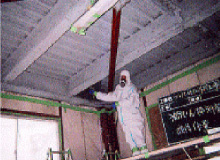 粉塵飛散抑制剤の散布